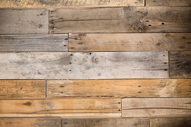 Color Image of Pallet Wood Wall