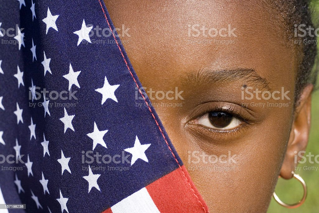 color in america royalty-free stock photo