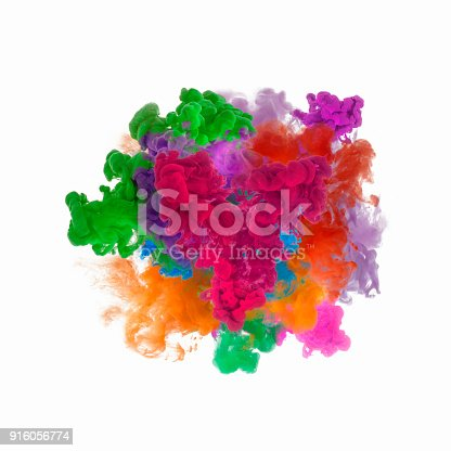 istock color ink in water 916056774