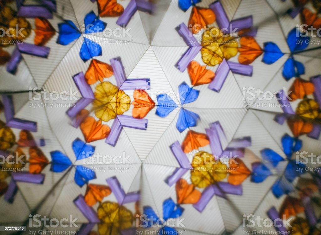 Color kaleidoscope texture stock photo