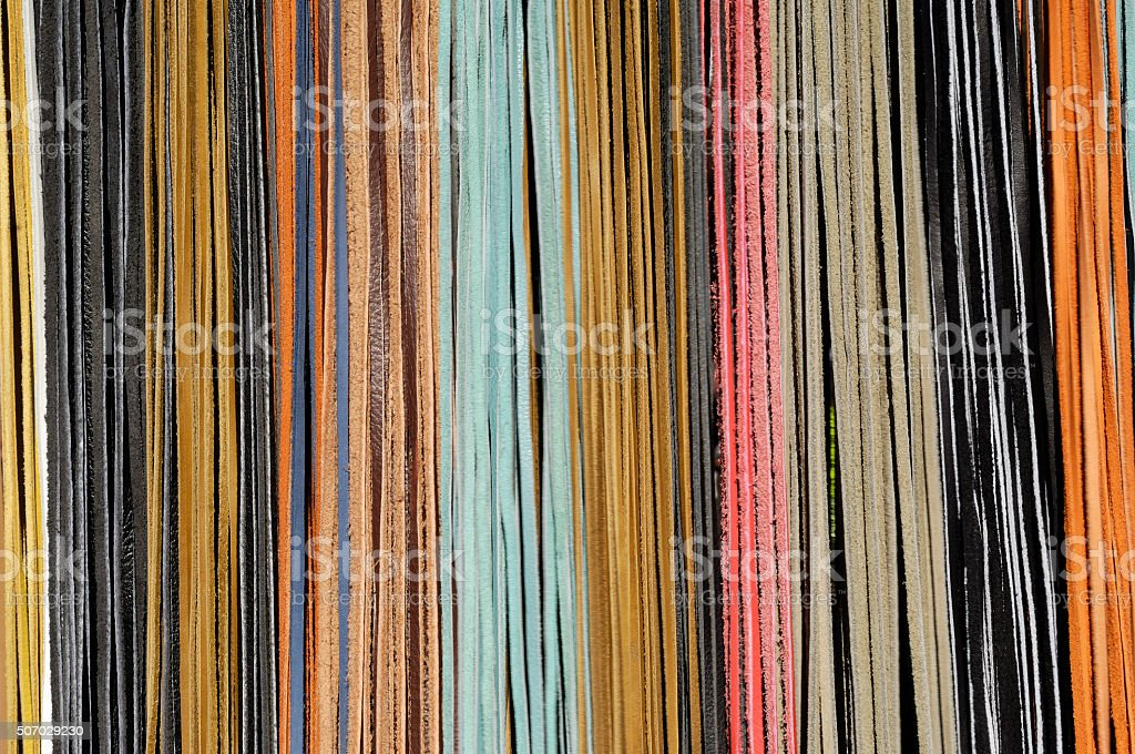 color leather stock photo