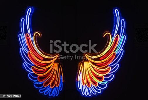 istock Color LED Wing 1276895560