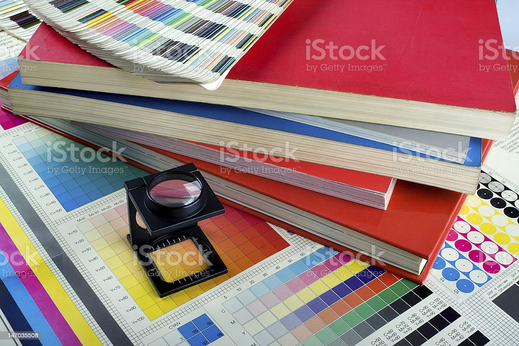 Color management set royalty-free stock photo