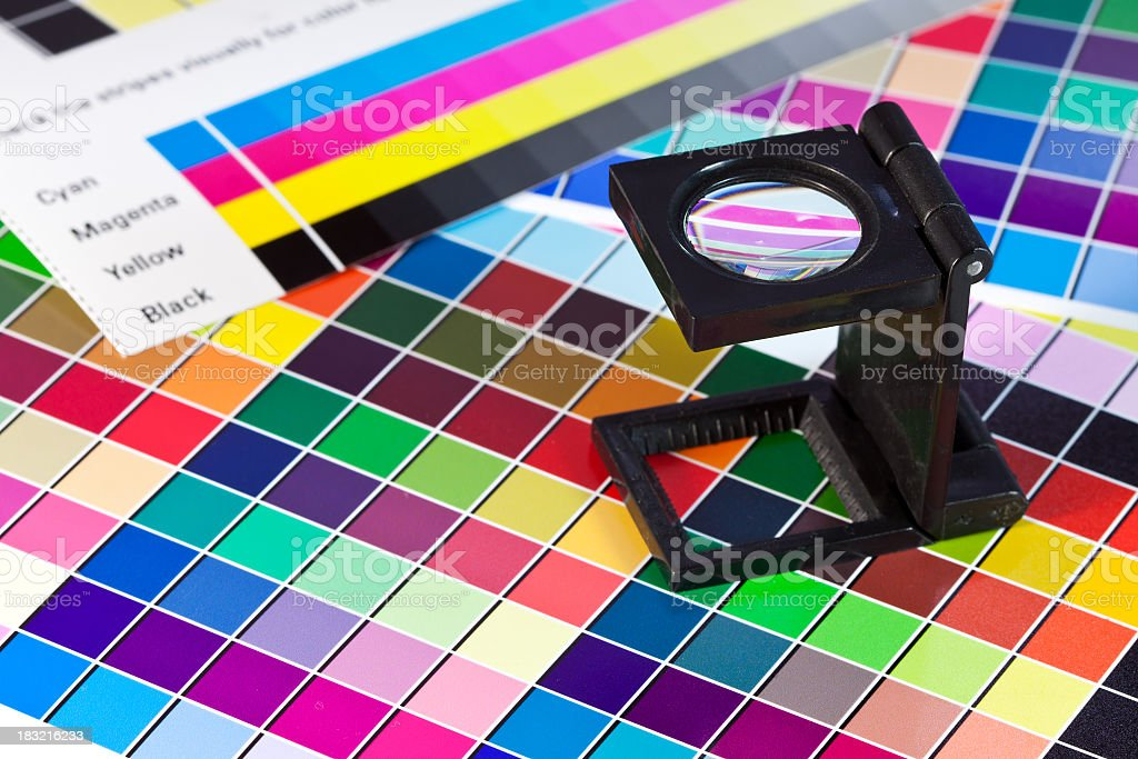 Color Matching royalty-free stock photo