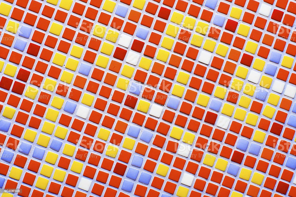 color mosaic royalty-free stock photo