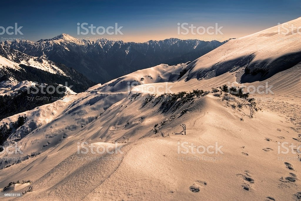 color mountain royalty-free stock photo