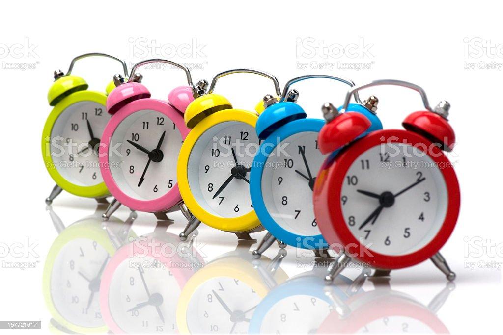 color O'clock royalty-free stock photo