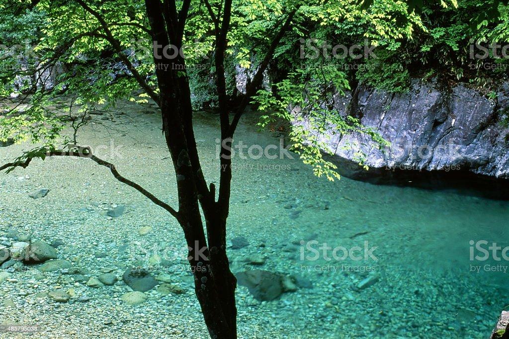 色の峡谷 ロイヤリティフリーストックフォト