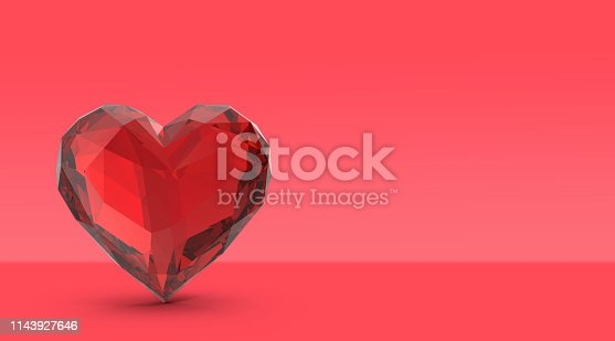 908708148 istock photo Color of the year 2019, living coral concept, love object on living coral background 1143927646