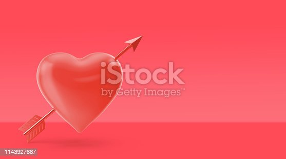 908708148 istock photo Color of the year 2019, living coral concept, love object on living coral background 1143927667