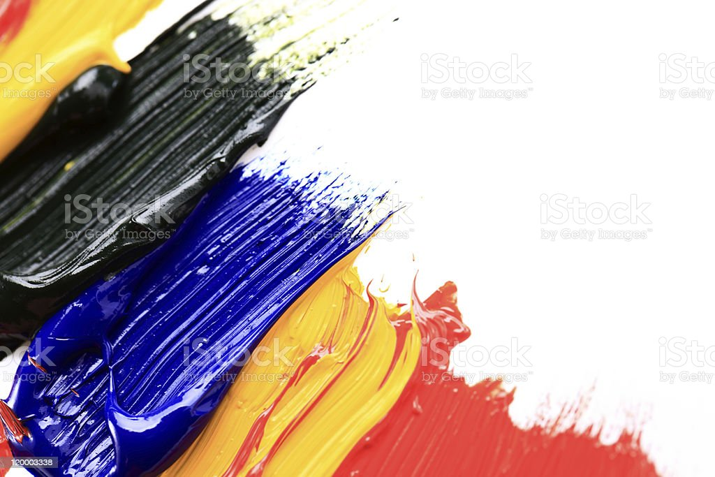 Color Paint royalty-free stock photo