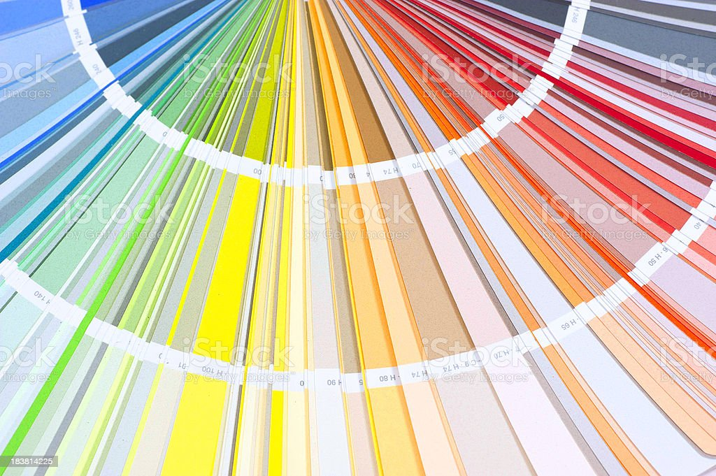 color palette background stock photo