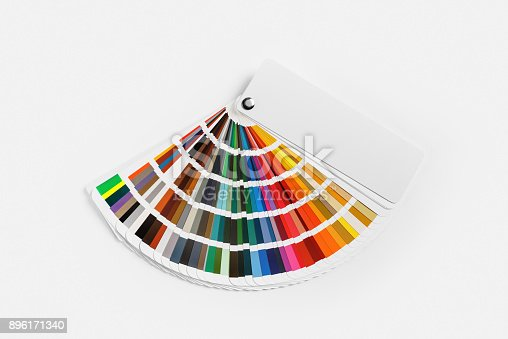 istock Color palette guide 896171340