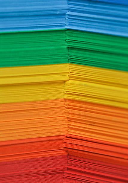 Farbe Papier – Foto
