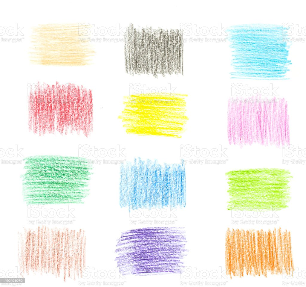 Color Pencil Texture stock photo | iStock