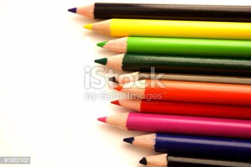 istock Color pencils 91922102