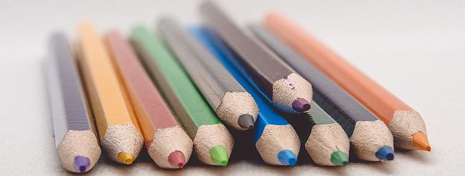 Kleur Potloden Stockfoto en meer beelden van Apparatuur
