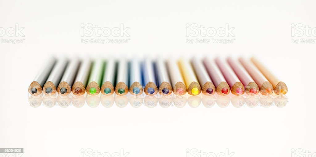 Color pens royalty-free stock photo