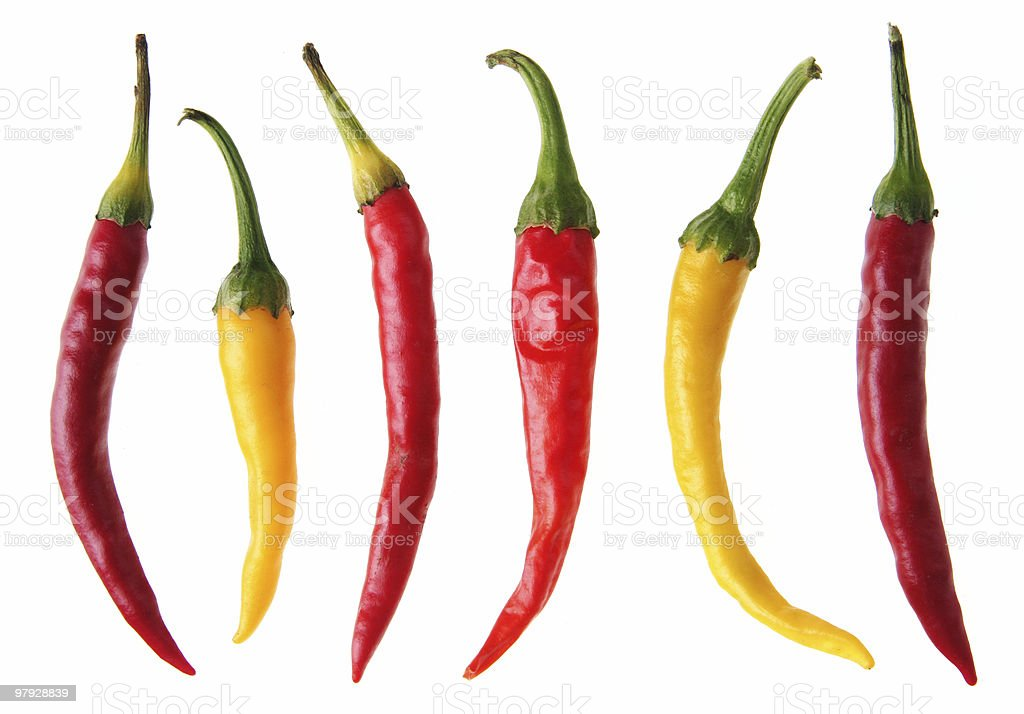 Color pepper royalty-free stock photo