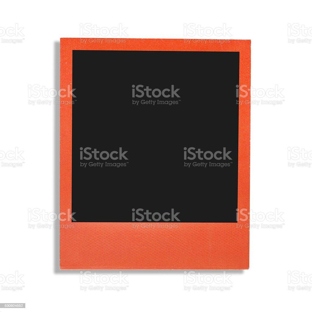 Color photo frame stock photo
