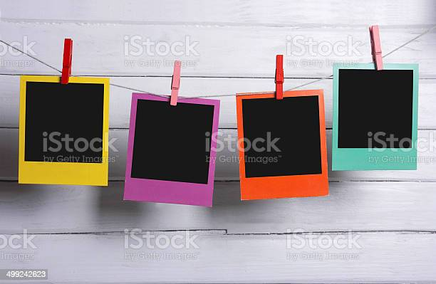 Color photo frames on a clothesline picture id499242623?b=1&k=6&m=499242623&s=612x612&h=5d ykxoh5 jek9dn1yabqxwp59tu5xe xrjvpe8russ=