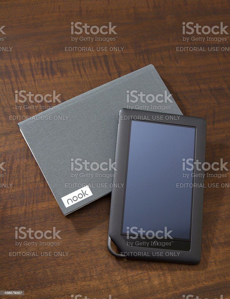 NOOK Color royalty-free stock photo