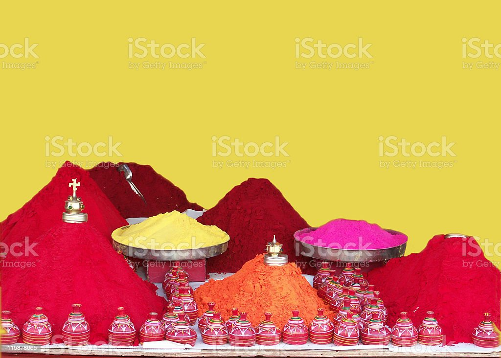 Color Pigments royalty-free stock photo