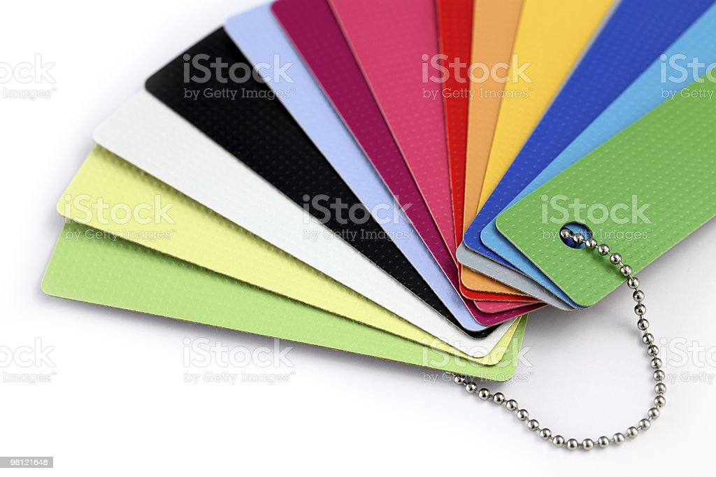 color plastics royalty-free stock photo