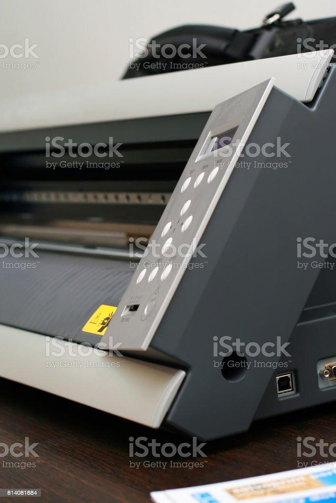Color Printer stock photo