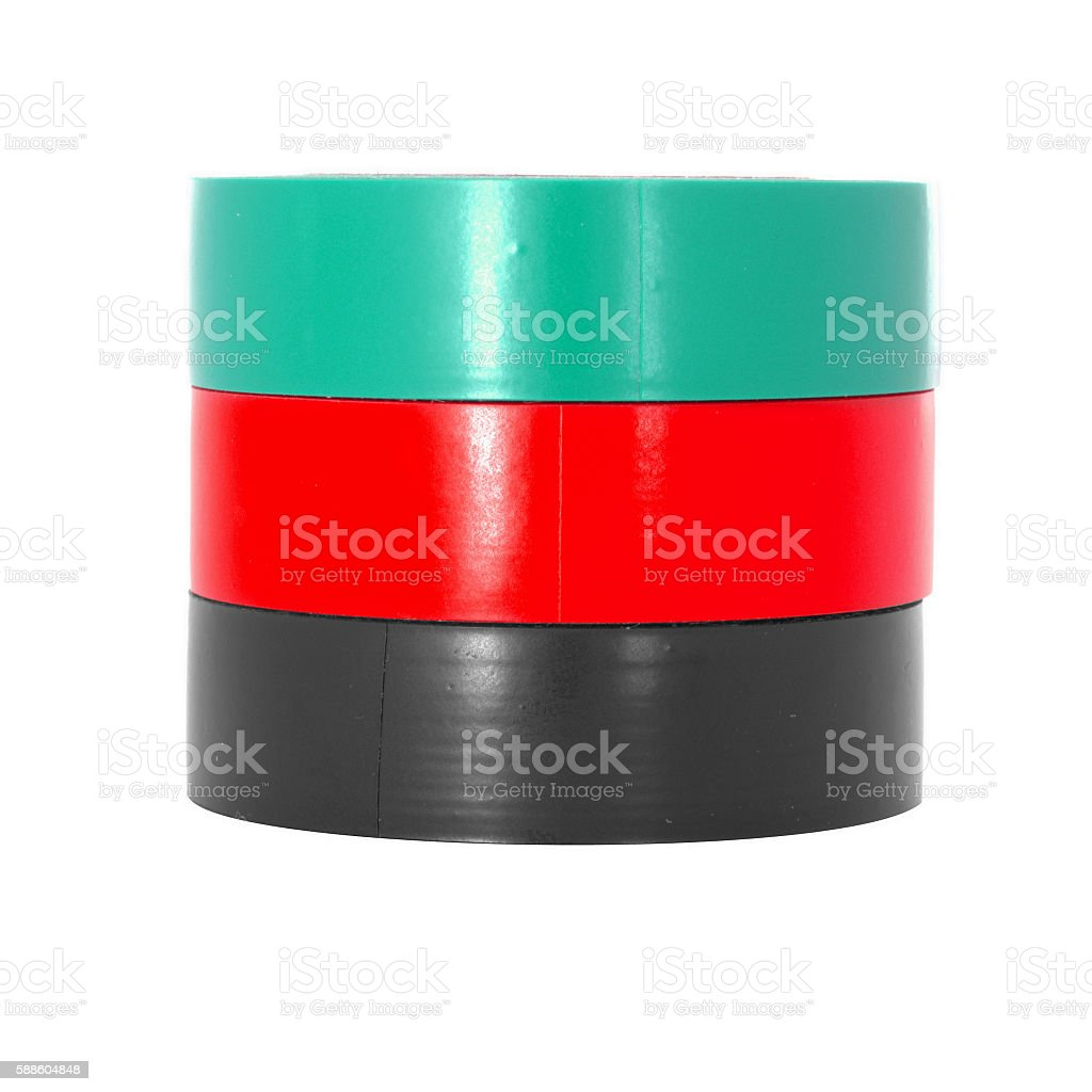 Color reels stock photo