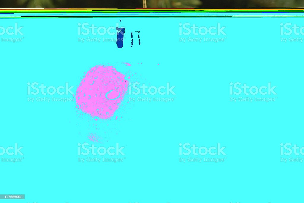 Color reflections in Soap royalty-free stock photo