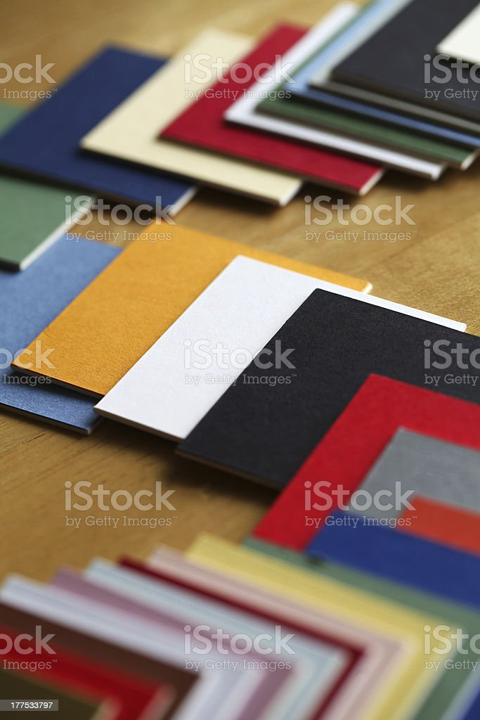 Color Samples. royalty-free stock photo