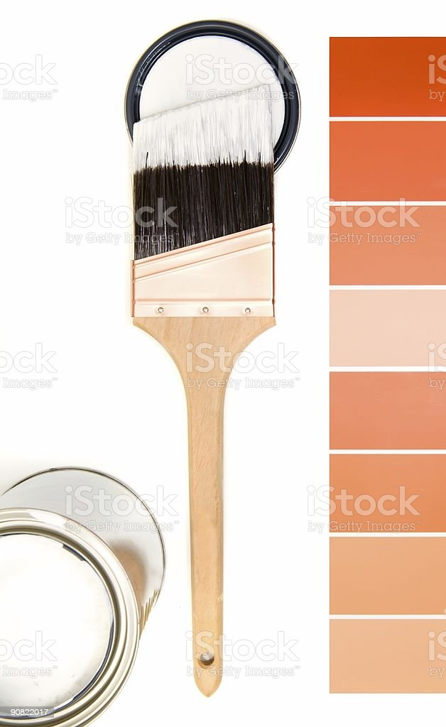 Color Schemes 2 royalty-free stock photo
