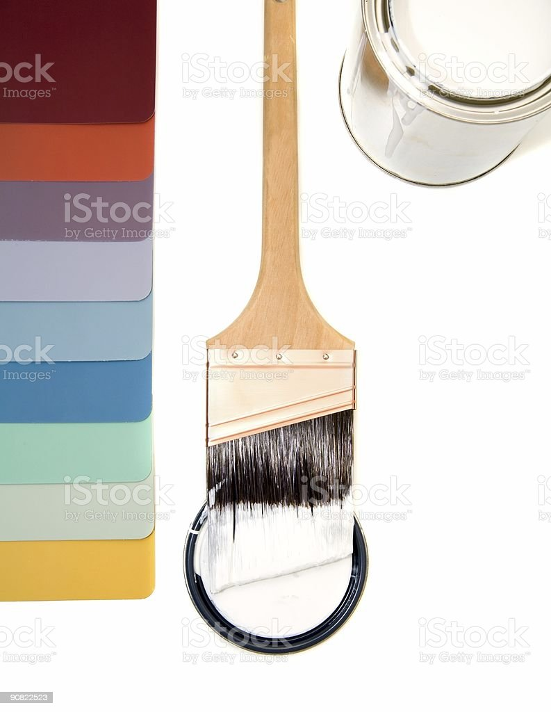Color Schemes 5 royalty-free stock photo