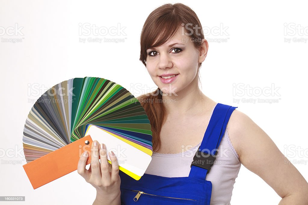 Color selection royalty-free stock photo