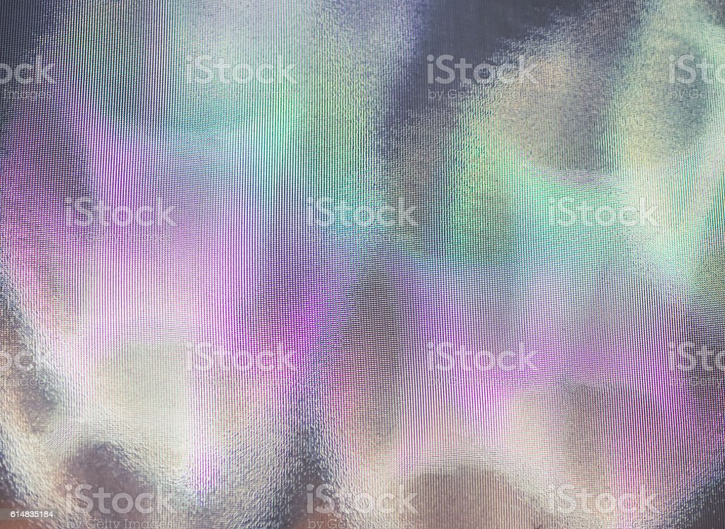 Color shiny motion on the wall of the mirror stock photo