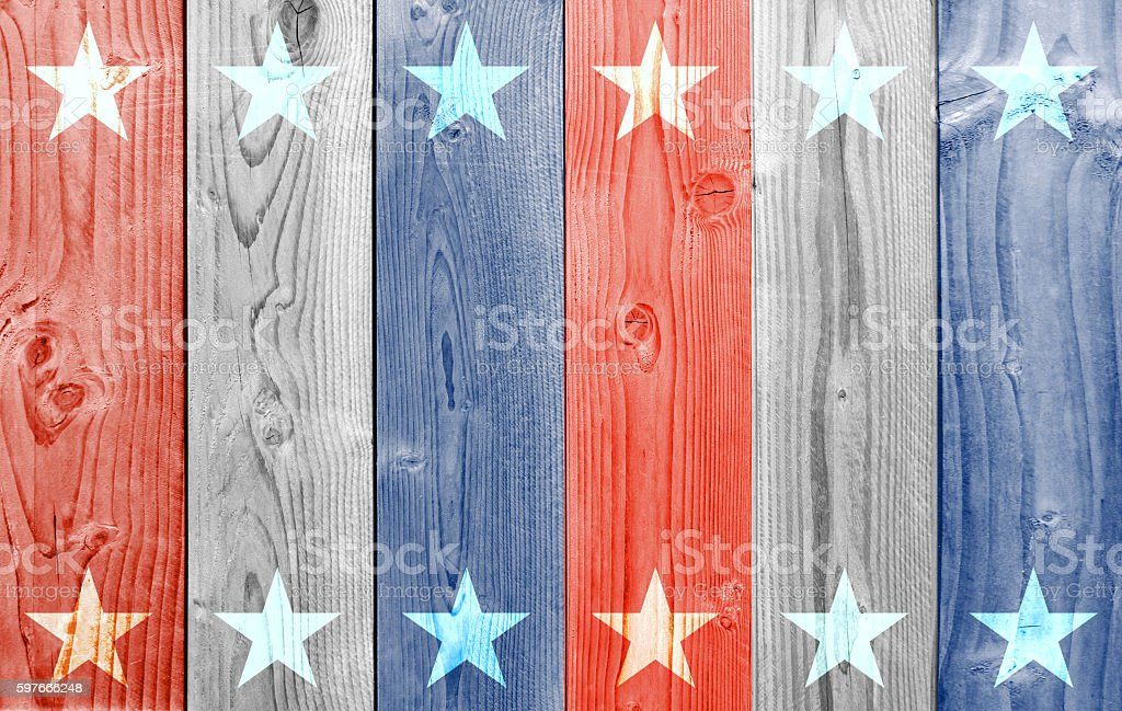 Color starry wood planks background stock photo