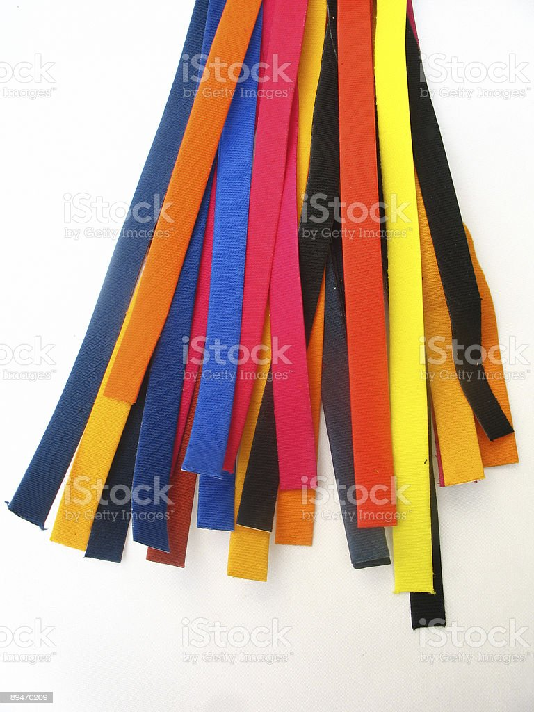 Color Strips royalty-free stock photo