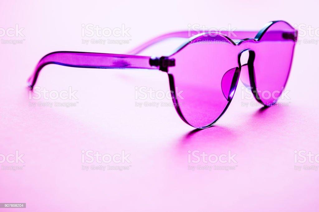 Color Surge Ultra Violet Sunglasses stock photo