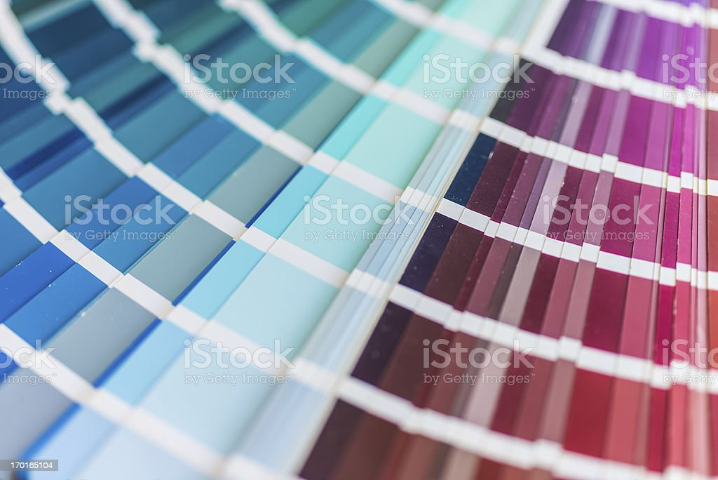 color swatch multi colored royalty-free stock photo