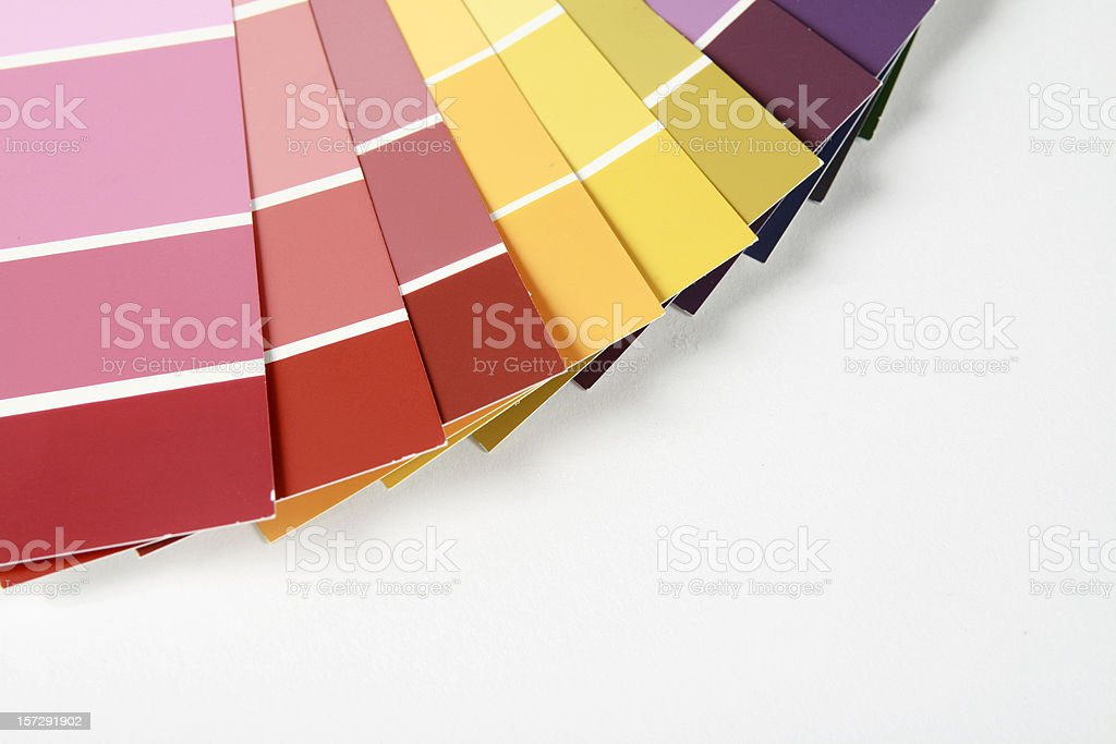 Color Swatches royalty-free stock photo