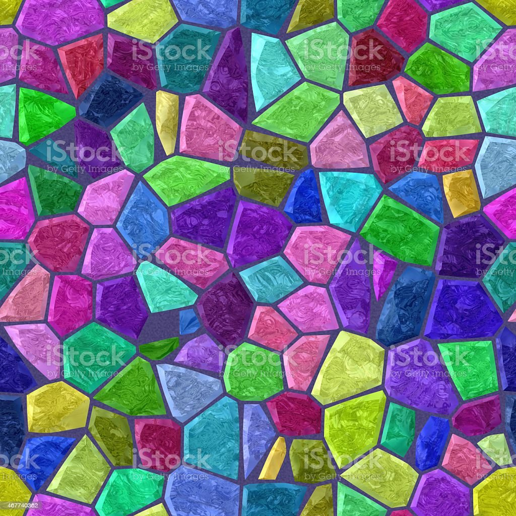 Color tiles seamless mosaic stock photo