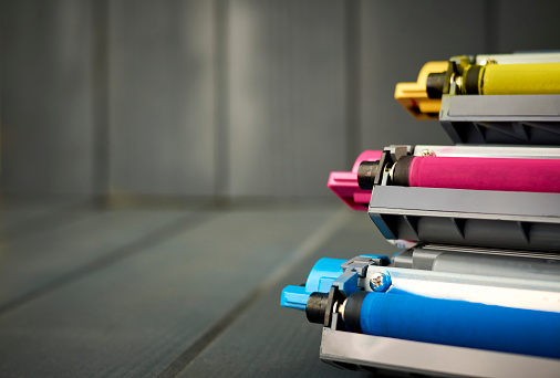 Toner cartridges for color laser printer