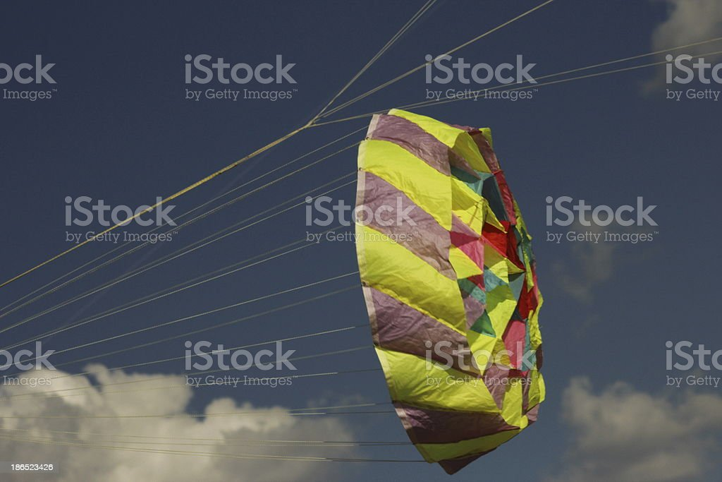 'Color transported in the wind' royalty-free stock photo