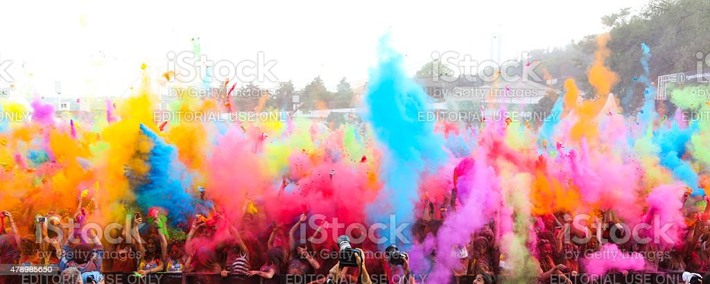 Color Up Run stock photo