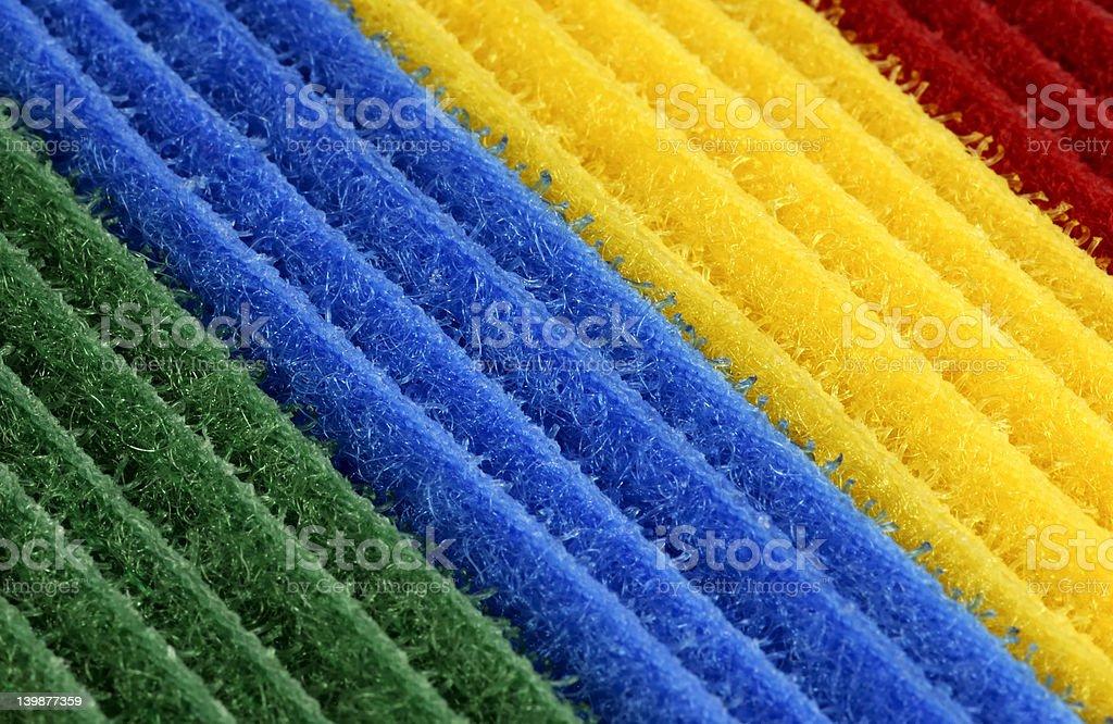 Color Velcro stock photo