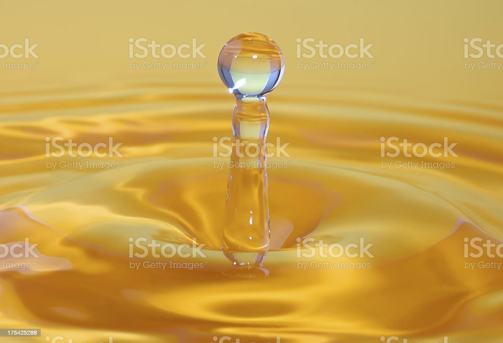 Color water drop royalty-free stock photo