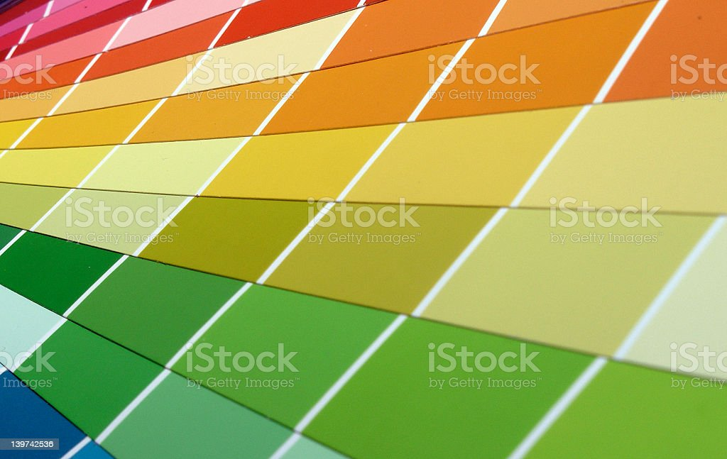 color weel royalty-free stock photo