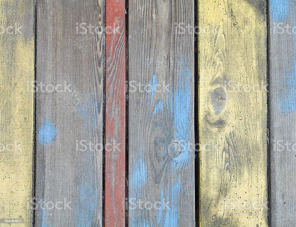Farbe Holz – Foto
