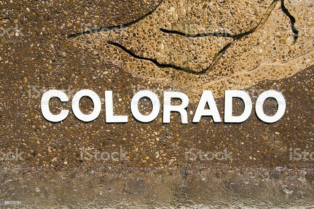 Colorado Above the Water royalty-free stock photo